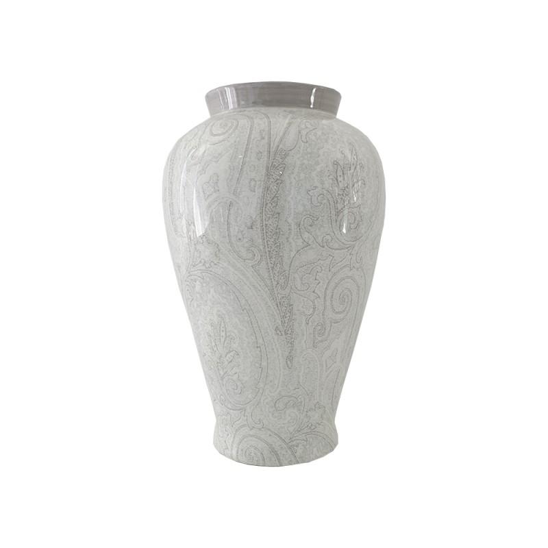 Etro vaso Cibele bianco