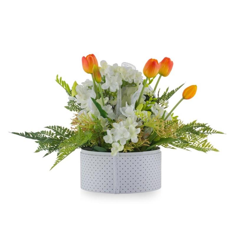 Flower Box con tulipani...