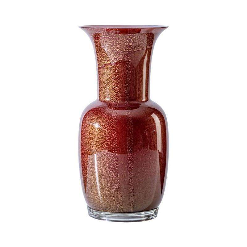 Venini vaso Opalino rosso...