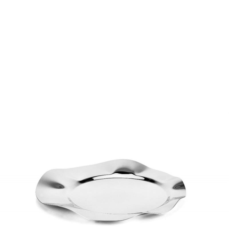 Candida Celiento - Elleffe Design, vassoio in acciaio inox diametro 40cm