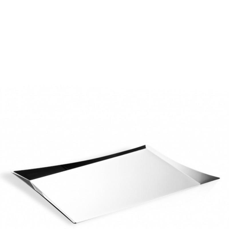 Candida Celiento - Elleffe Design, vassoio in acciaio inox 52x40cm