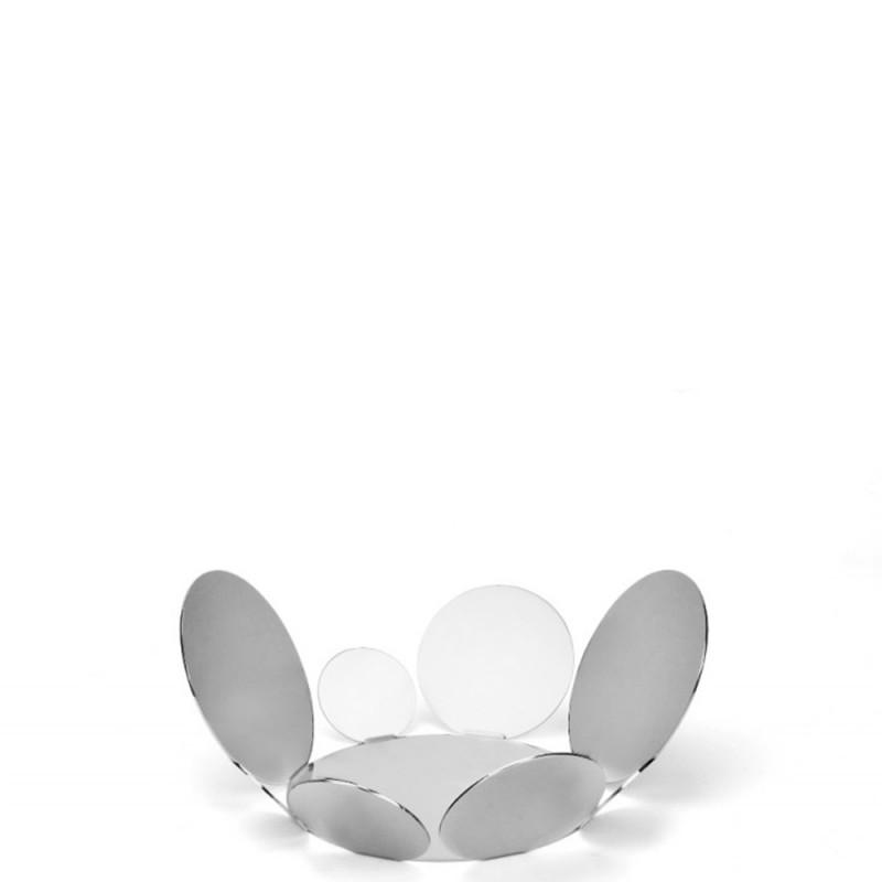 Candida Celiento - Elleffe Design, cestino in acciaio inox Ø 34cm