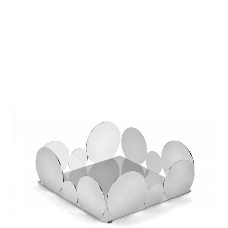 Elleffe Design - Portatovaglioli / cestino in acciaio inox