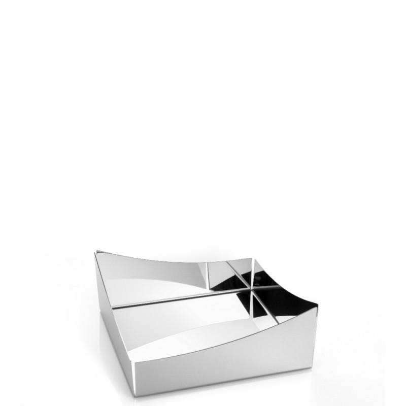 Elleffe Design - Portatovaglioli in acciaio inox 20x20cm