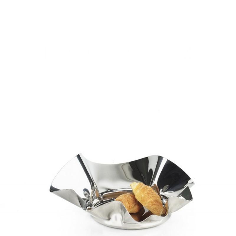 Candida Celiento - Elleffe Design, cestino in acciaio inox diametro 30cm