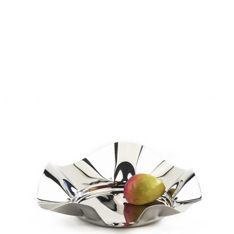 Candida Celiento - Elleffe Design, cestino in acciaio inox diametro 40cm