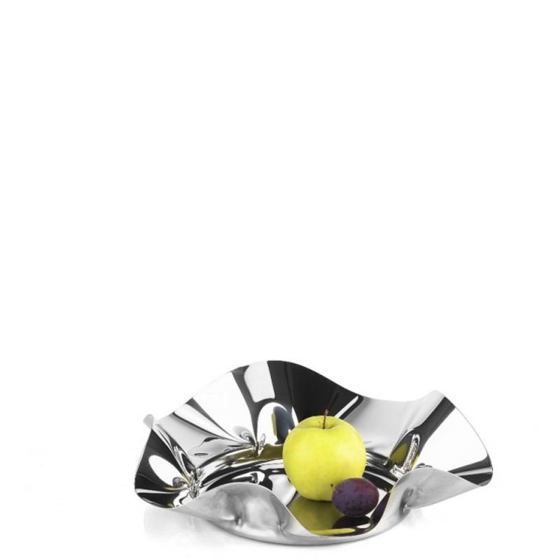 Candida Celiento - Elleffe Design, cestino in acciaio inox diametro 35cm