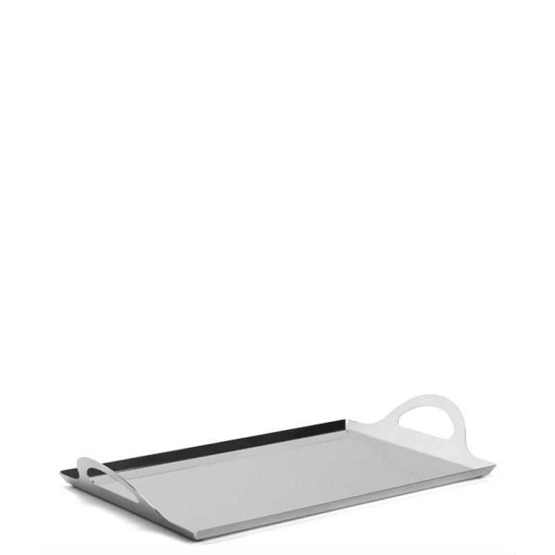 Candida Celiento - Elleffe Design, vassoio in acciaio inox 35x24cm