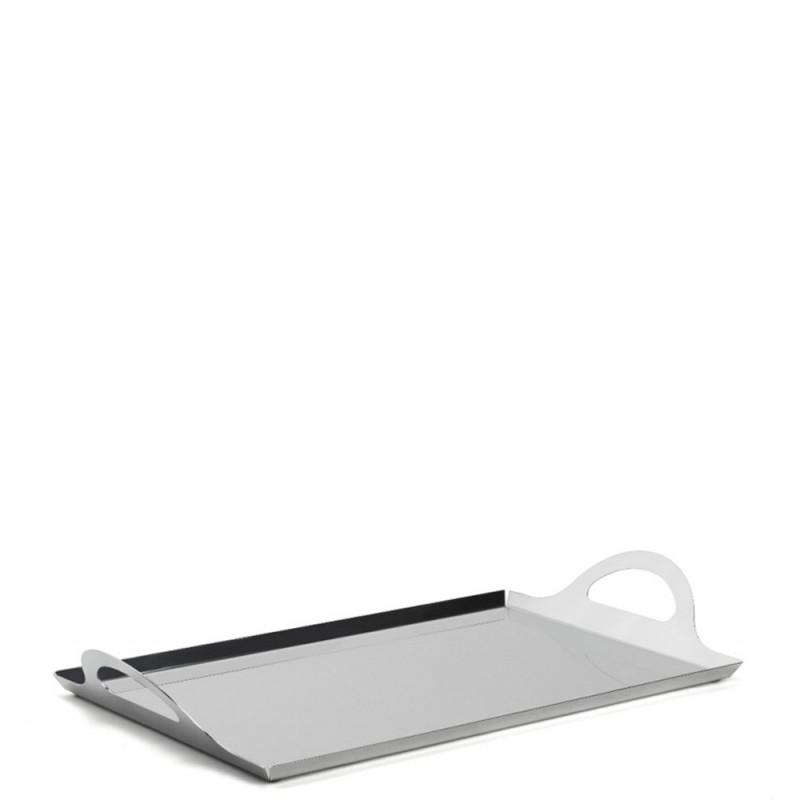 Candida Celiento - Elleffe Design, vassoio in acciaio inox 40x27cm