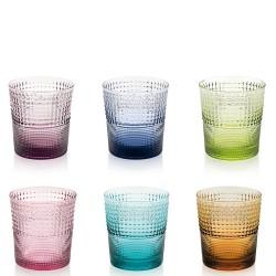 IVV - Set 6 bicchieri acqua Speedy multicolor