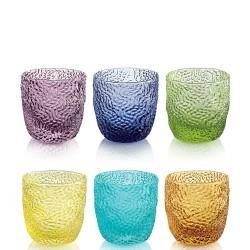 IVV - Set 6 bicchieri liquore Tricot multicolor