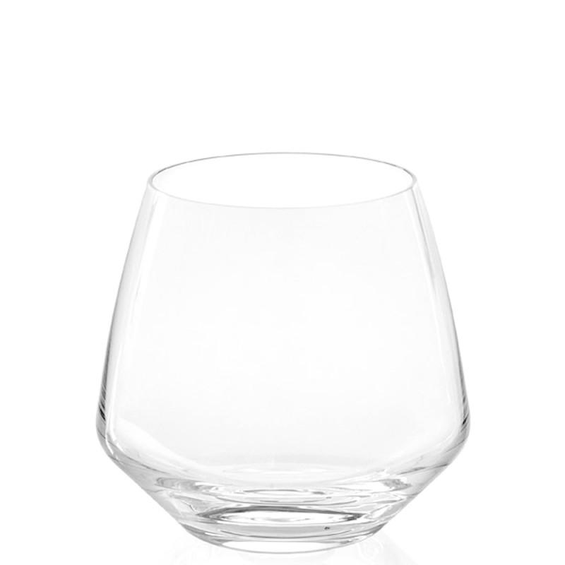 Candida Celiento - IVV, set 6 bicchieri bibita Vizio trasparenti