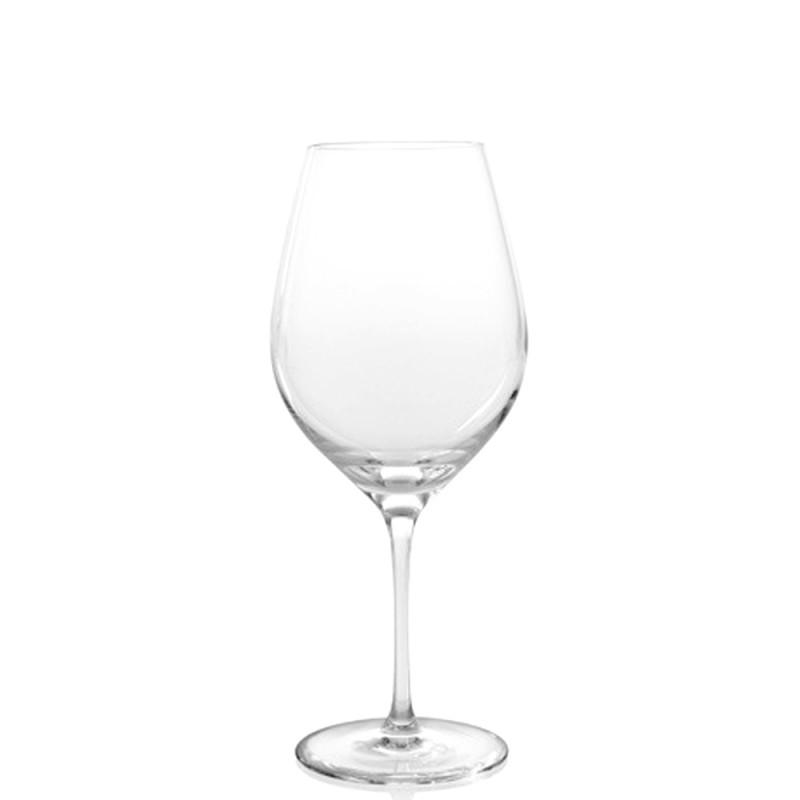 Candida Celiento - IVV, set 6 calici vino rosso Vizio trasparenti