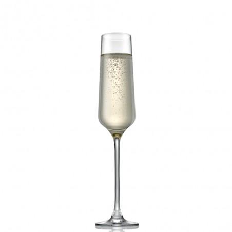IVV - Set 2 calici flute Tasting Hour trasparenti