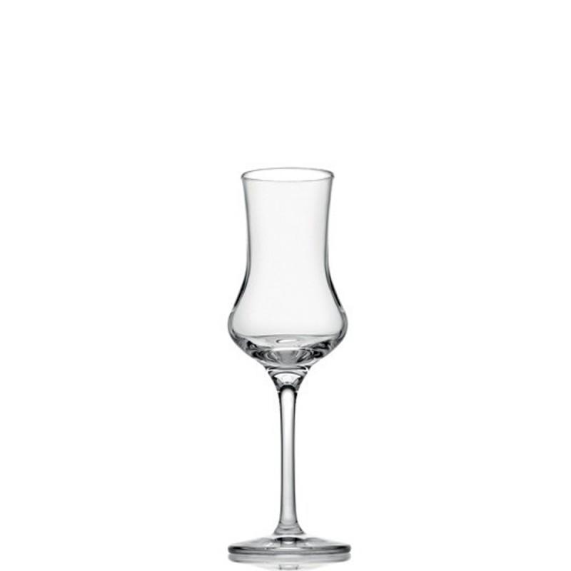 Candida Celiento - IVV, set 2 calici grappa Tasting Hour trasparenti