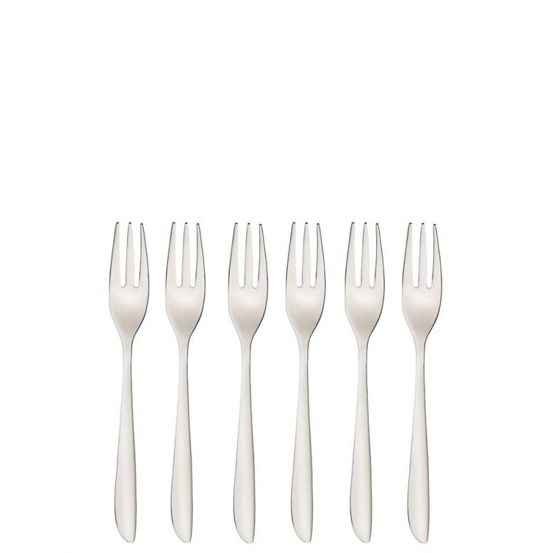 Sambonet set forchette dolce Leaf 6 pezzi - 52163A55