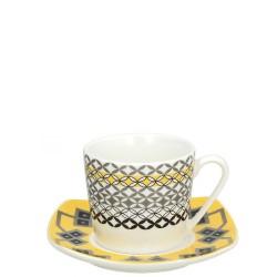 Tognana - Servizio caffè 6 tazze Youyellow