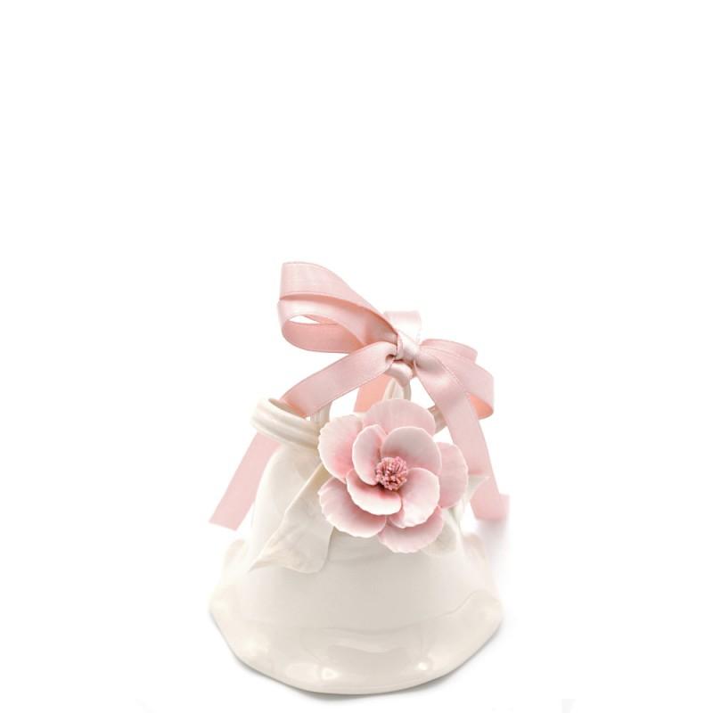 Candida Celiento - Fiori di Lena, campana Sweet Rosa grande