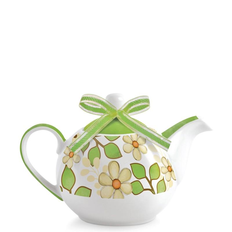 Candida Celiento - Egan, teiera La Vita Tea for Two verde