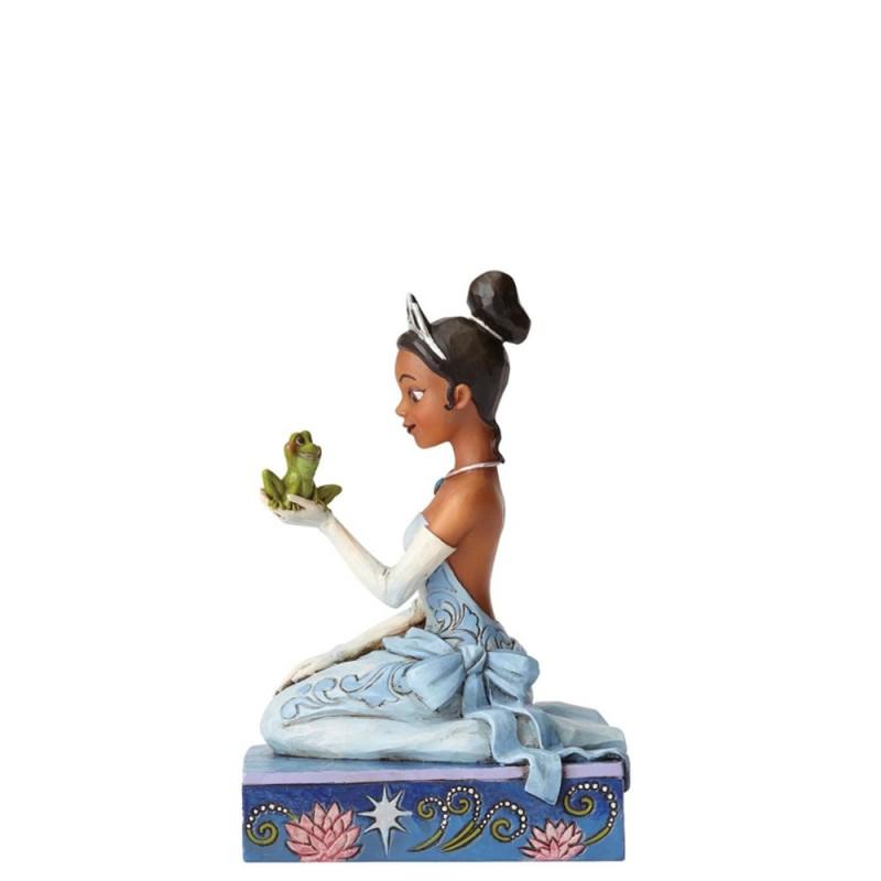 Disney - Statuina La principessa e il ranocchio Disney Traditions