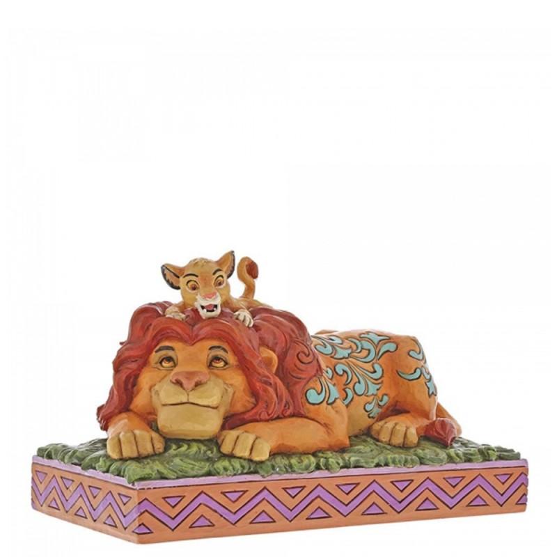 Disney - Statuina Simba e Mufasa Disney Traditions