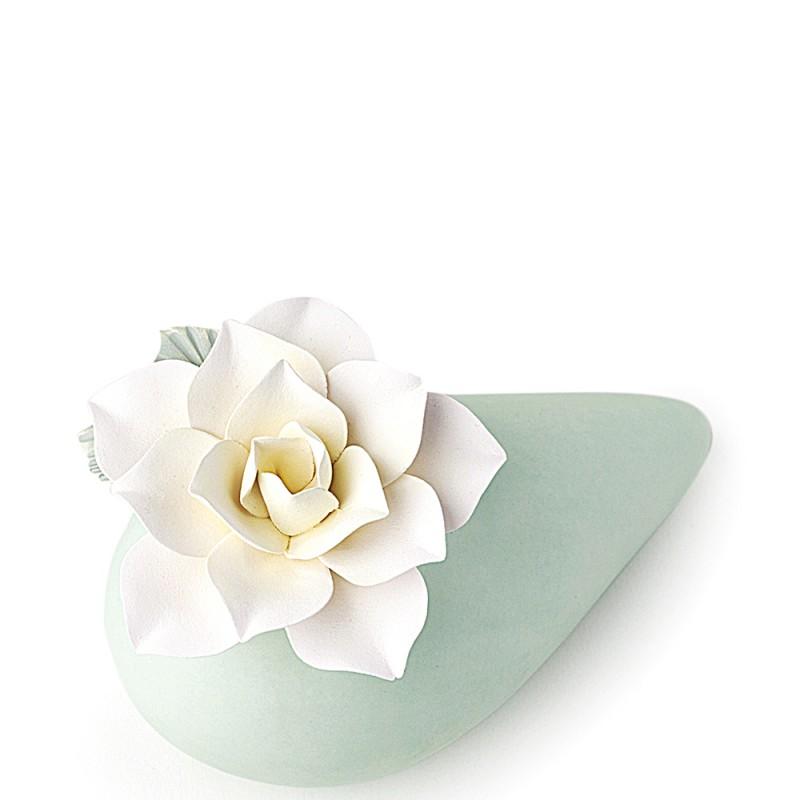 Candida Celiento - Hervit Creations, Portaessenza cono in porcellana verde 25846 - foto 1