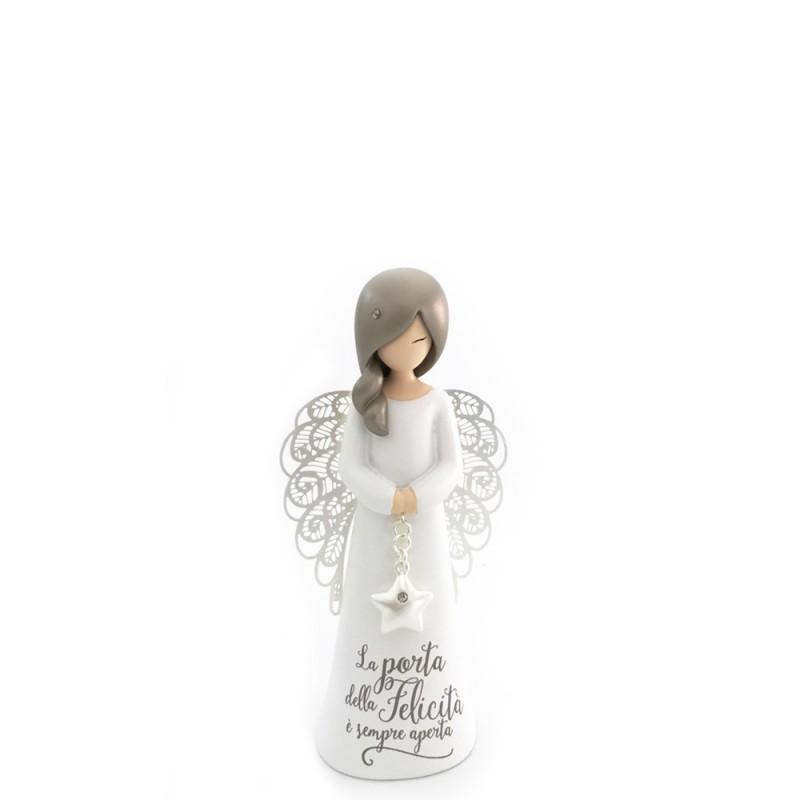 Candida Celiento - You are an Angel - Angelo LA PORTA DELLA FELICITÀ È SEMPRE APERTA piccolo - ASF002I  - foto-1