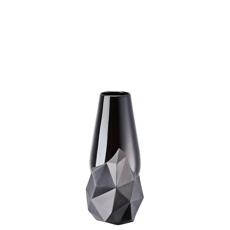 Rosenthal Vaso Geode Schwarz 27cm 26027-14474-105850 Candida Celiento-Foto-1