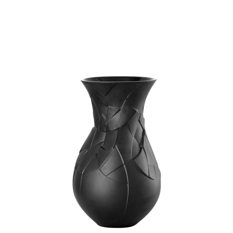Rosenthal Vaso Phases Schwarz 30cm 26030-14255-105000 Candida Celiento-Foto-1