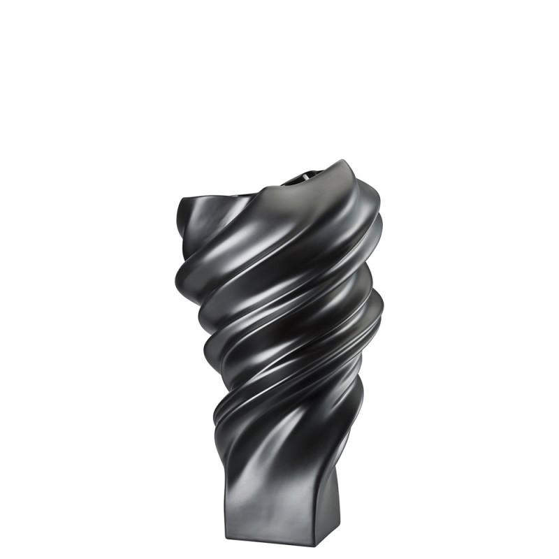 Rosenthal Vaso Squall Schwarz 32cm 26032-14463-105000 Candida Celiento-Foto-1