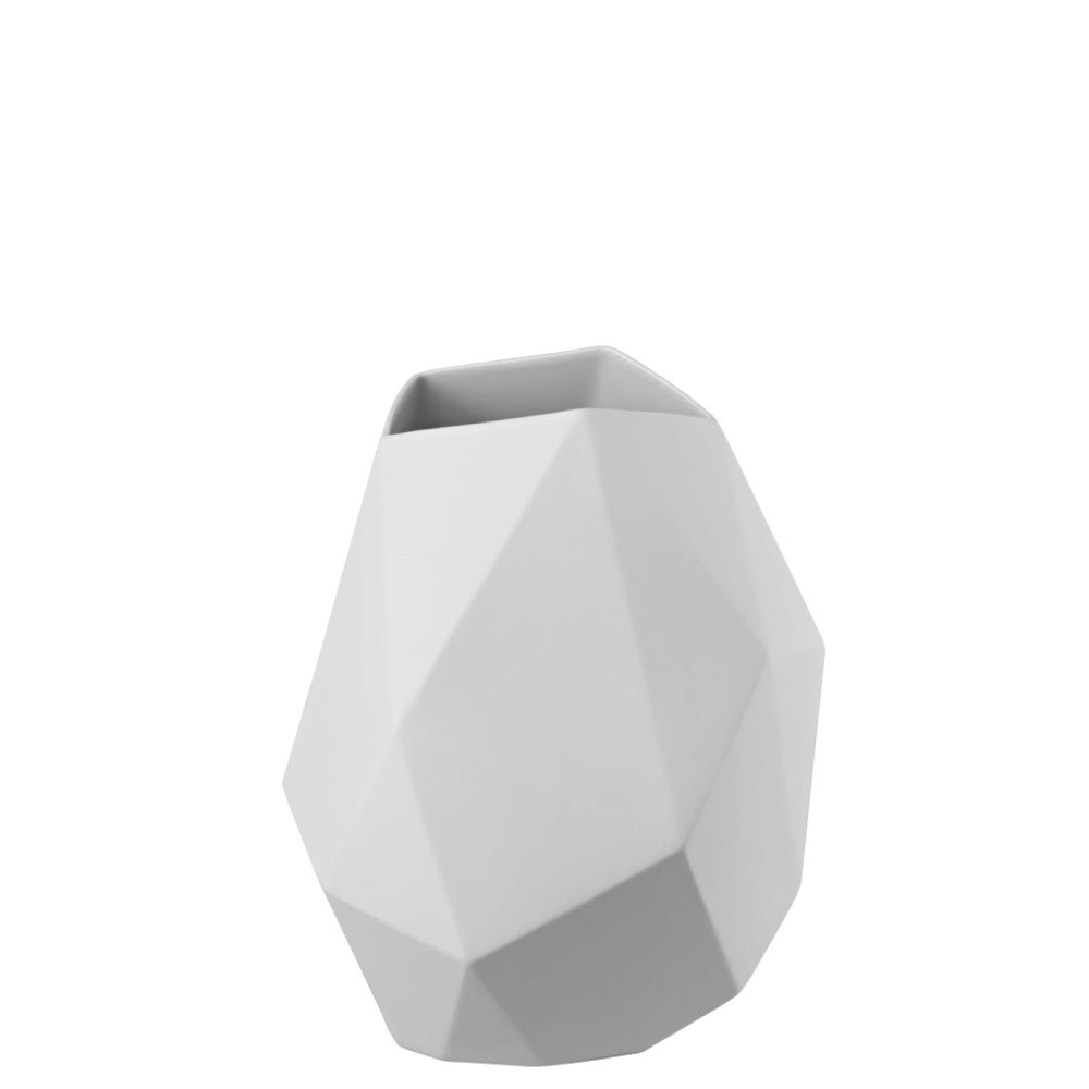 Rosenthal Vaso Surface Weiss matt 30cm 26030-14270-100102 Candida Celiento-1