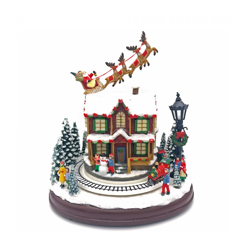 Il Mondo dei Carillon - Carillon Babbo Natale slitta - 57004 - Candida Celiento - Foto 1