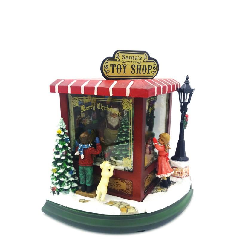 Il Mondo dei Carillon - Vetrina natalizia - 52003 - Candida Celiento - foto1