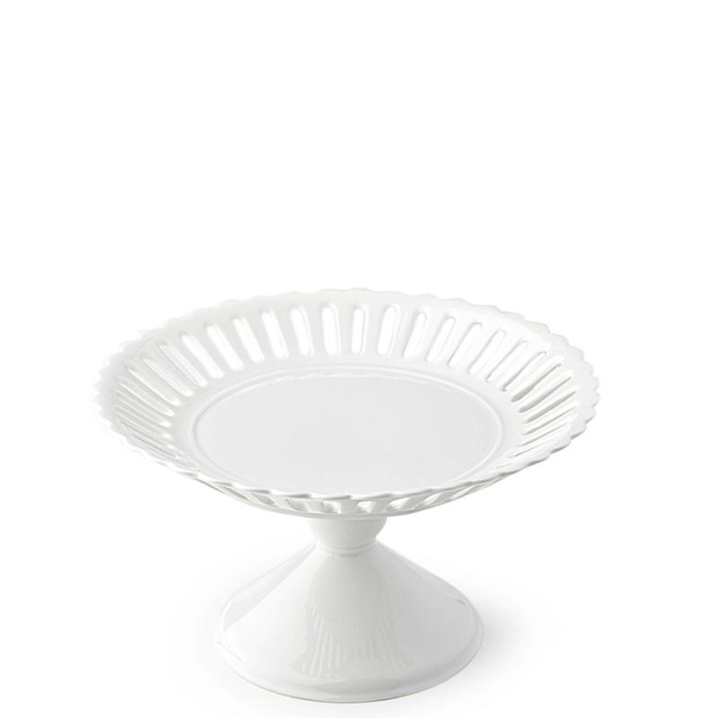Hervit Creations - Alzata porcellana bone china diametro 25cm - 25810 - Candida Celiento - Foto 1