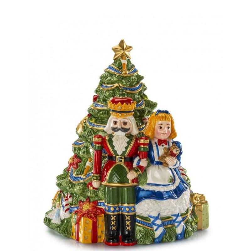 Fitz and Floyd - Scatola albero di Natale - 1017282 - Candida Celiento - foto1
