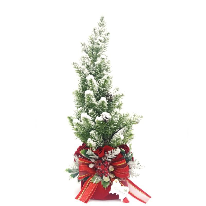 Fiori di Lena - Albero di Natale 34cm - Al1/RS - Candida Celiento - foto 1