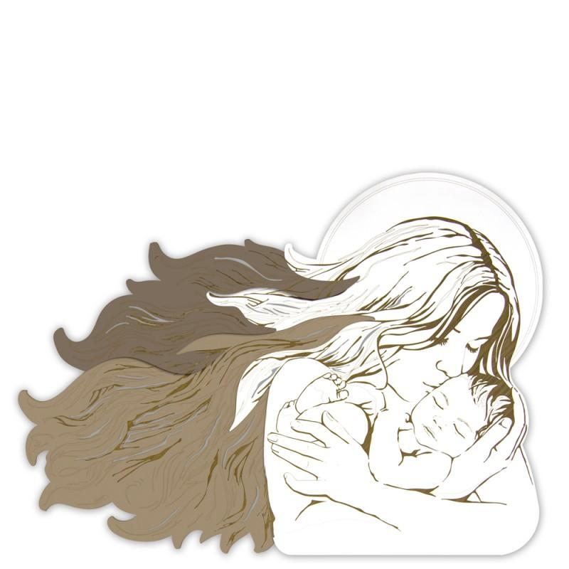LAS - Laser Art Style - Quadro Maternità moderna - SI-273 - Candida Celiento - Foto 1
