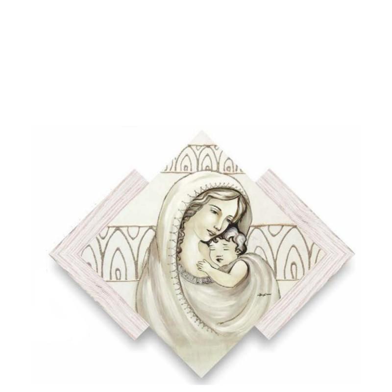 Artemania - Quadro Maternità rombo - AMD33 - Candida Celiento - foto1