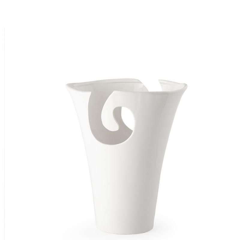 Hervit vaso porcellana ricciolo - 27383