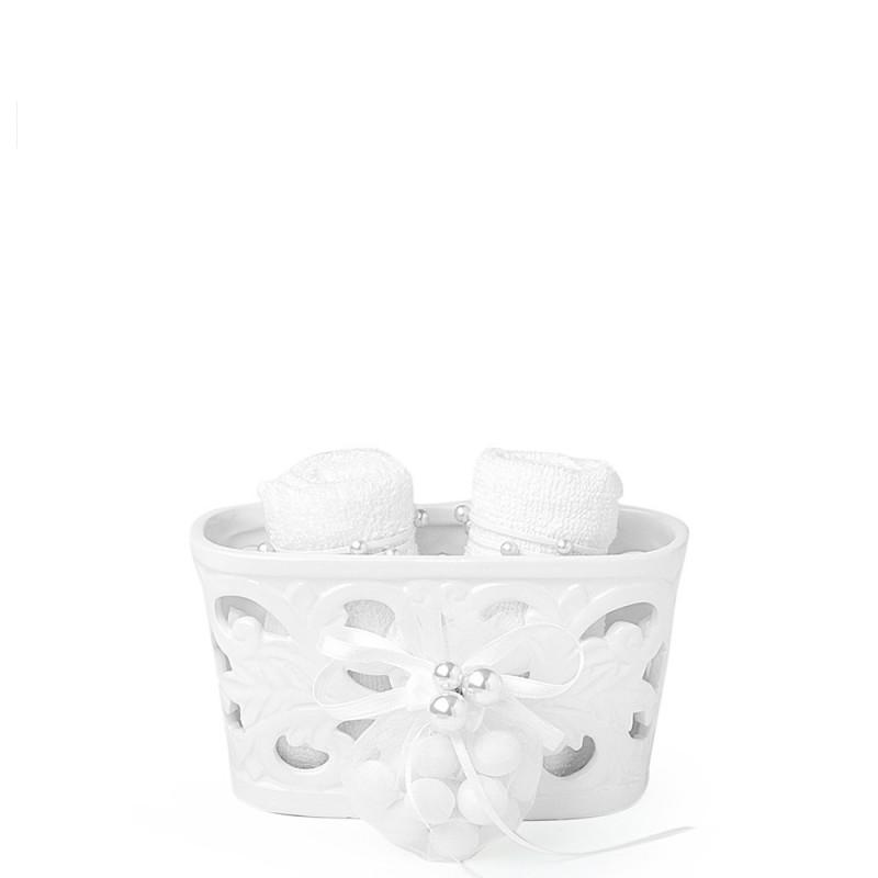 Hervit contenitore traforato con asciugamani - 27431