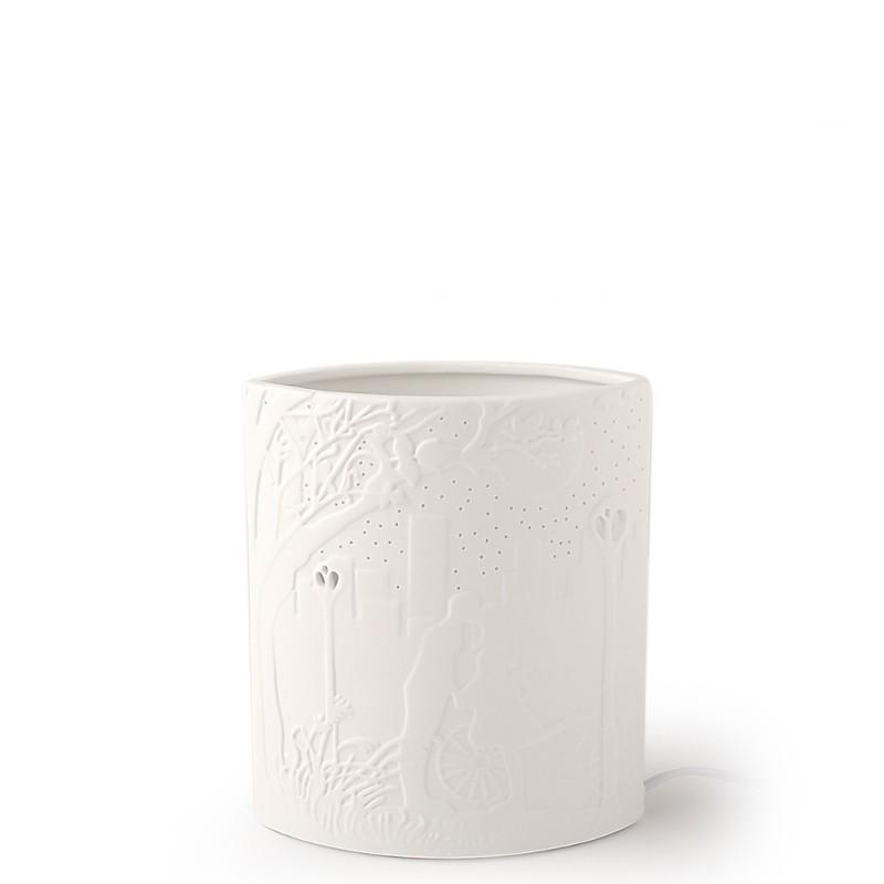 Hervit lampada porcellana...