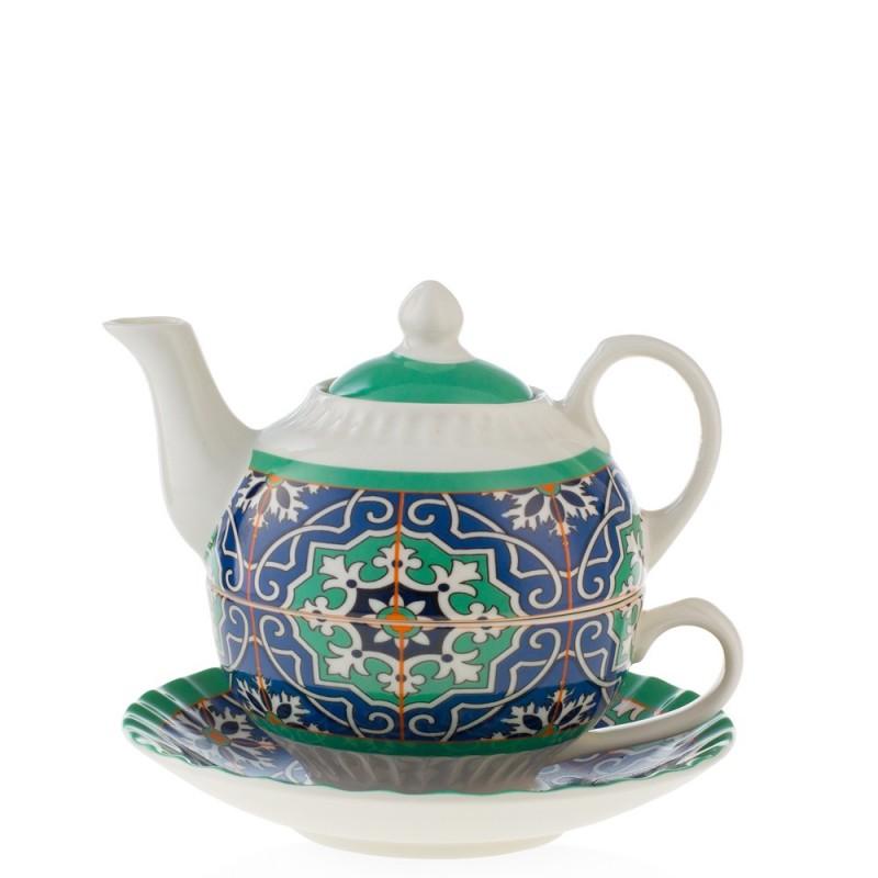 Emò Italia tea for one AZULEJOS - AZ-04