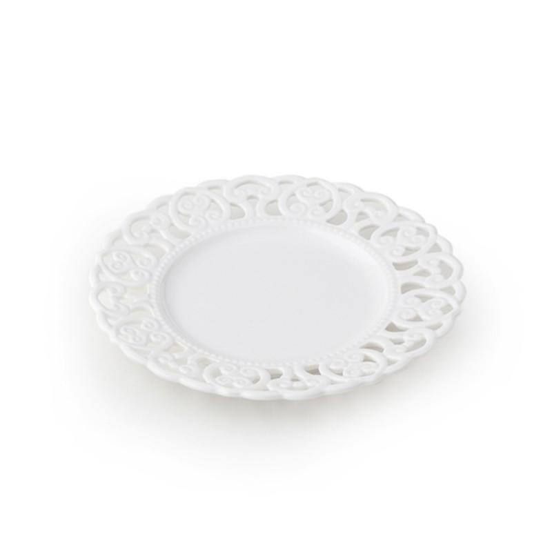 Hervit piattino porcellana traforata cod. 27298