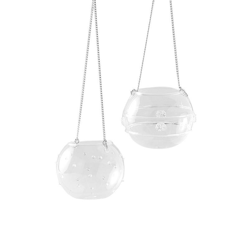 Hervit box 2 sfere vetro portatealite - 27427