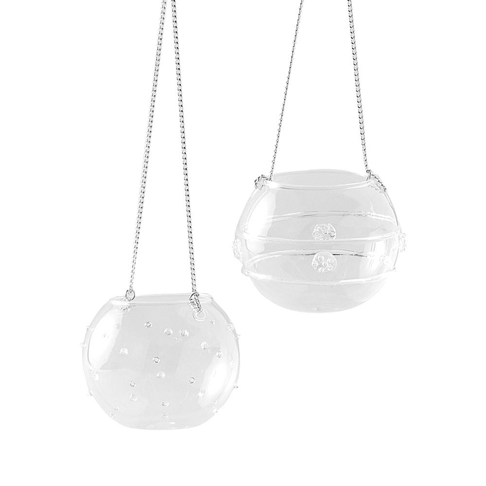 Hervit box 2 sfere vetro portatealite - 27428