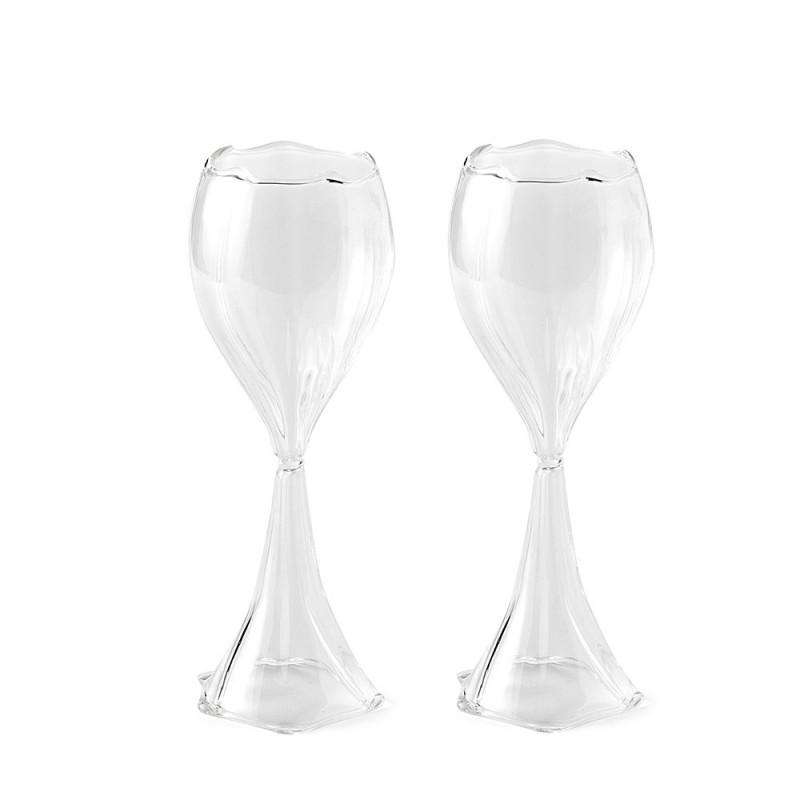 Hervit box 2 bicchieri vetro tubero - 27424