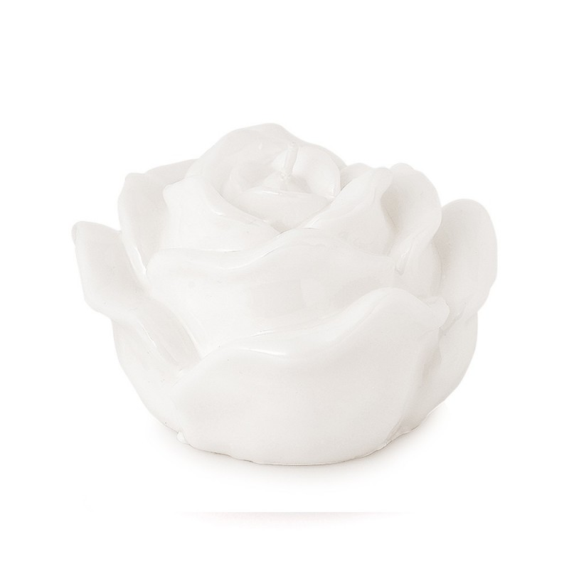 Hervit candela rosa bianca laccata - 24699