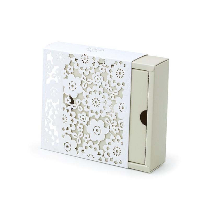 Hervit box cartoncino beige 10x10x3cm 300gr - 26424
