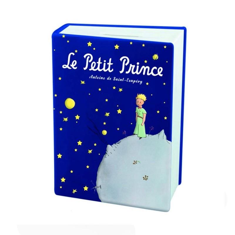 Enesco libro salvadanaio blu Piccolo Principe - 525532