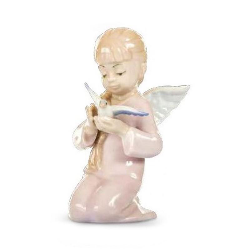 Morena bimba angelo con colomba - D7711